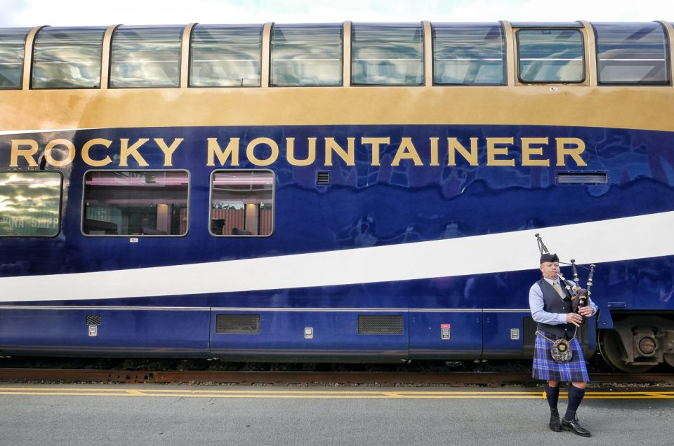 The Rocky Mountaineer Train Journey